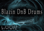 Blazin DnB Drums Drum and Bass Drum Samples by Ulysses E. Lee - LoopArtists.com