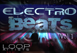 Electro Beats Vol 1 Breaks Drum Samples by Pip Williams - LoopArtists.com