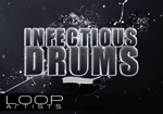 Infectious Drums Hip Hop Drum Samples by Groove City - LoopArtists.com