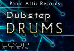 Panic Attic Records - Panic Attic Dubstep Drums - Dubstep Drum Loops - Loop Pack